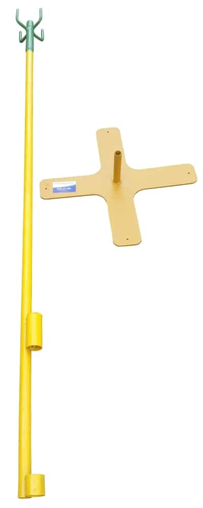 Stand Alone Electrical Lead Stand and Base