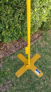 electrical lead stand and base