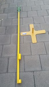lead stand and base separated